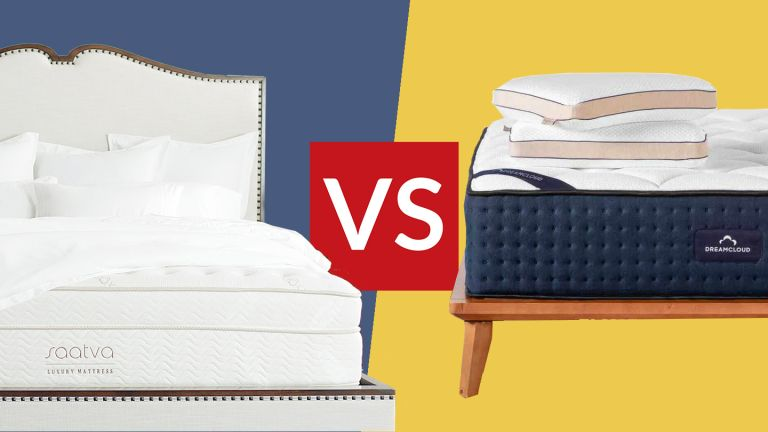 DreamCloud vs Saatva mattress