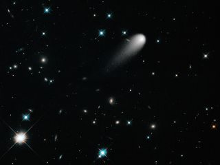 Comet ISON Hubble space wallpaper