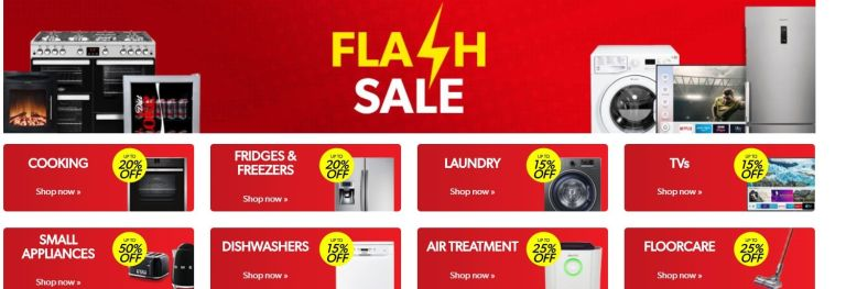 Appliances Direct flash sale
