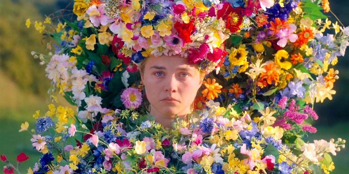 Florence Pugh as Dani the May queen in Midsommar
