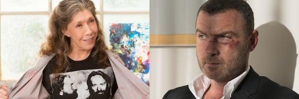 Lily Tomlin and Liev Schreiber