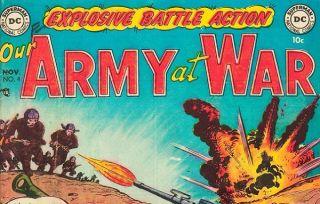 War comic book DARPA