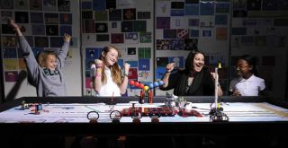 Robotics Projects Encourage Girls to Engage in STEM