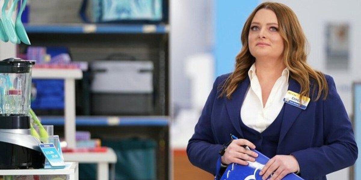 Lauren Ash as Dina Fox in Superstore.