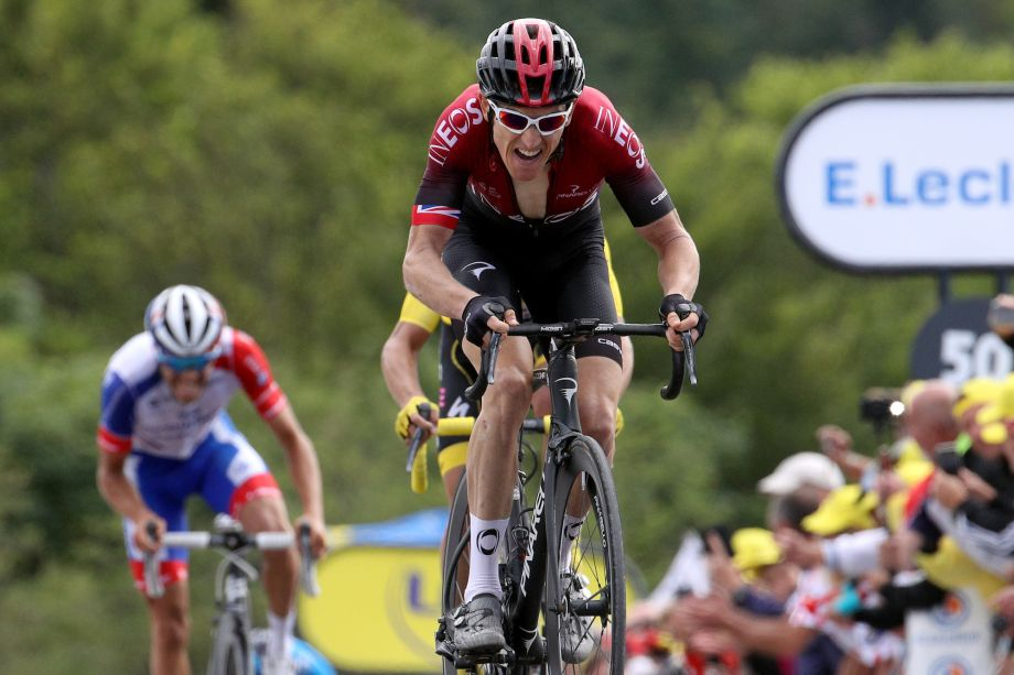 Geraint Thomas: I didn't know how good I'd be compared to rivals on La Planche des Belles Filles