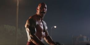 The Rock Lifting Weights Just Keeps Going And Going - And That's Just His Warm-Up