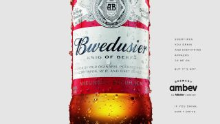 budweiser mixed up name