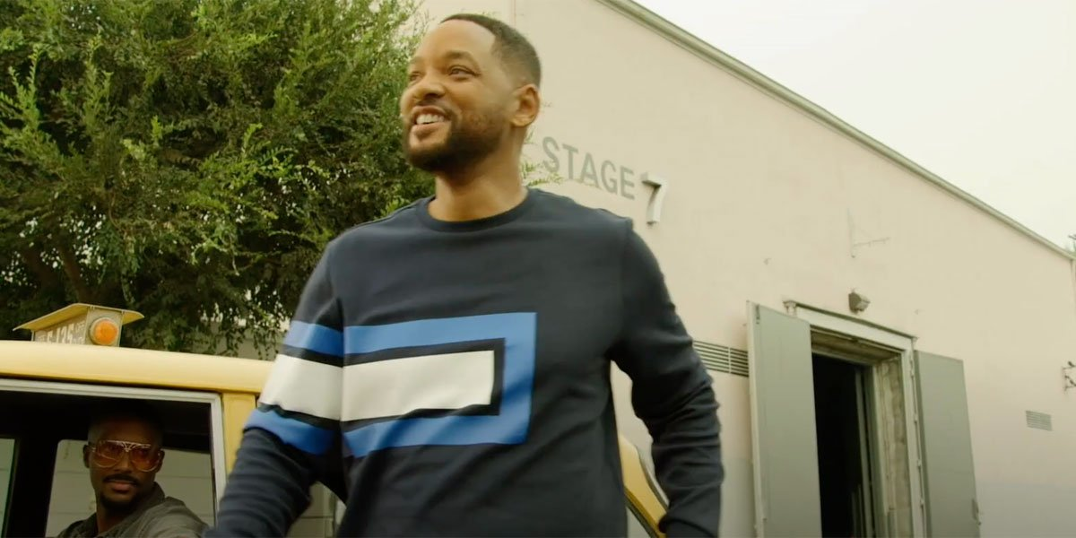 Will Smith back on the Fresh Prince Studio Lot