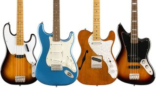 Squier Classic Vibe Summer NAMM 2019 electric guitars and basses