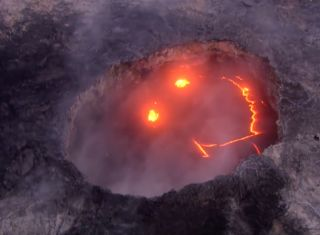 volcano-smiley-face