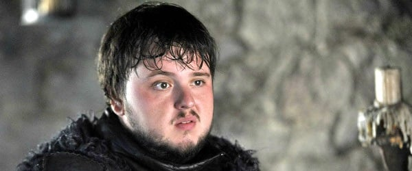 Samwell Tarly Game Of Thrones HBO