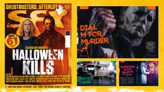 The cover and some of the contents of SFX issue 345.