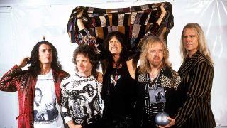 Aerosmith at the MTV Awards in Berlin in 1994
