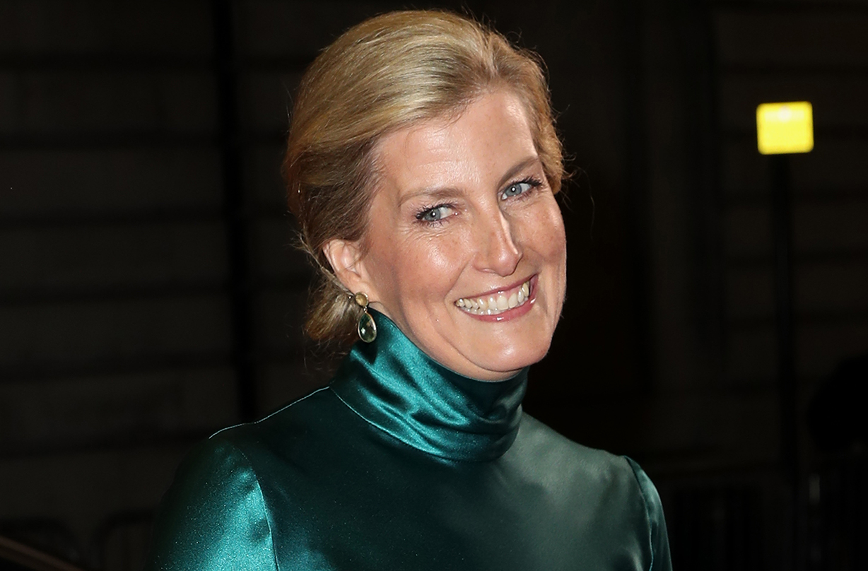 Countess of Wessex steps out in elegant satin dress for exciting event