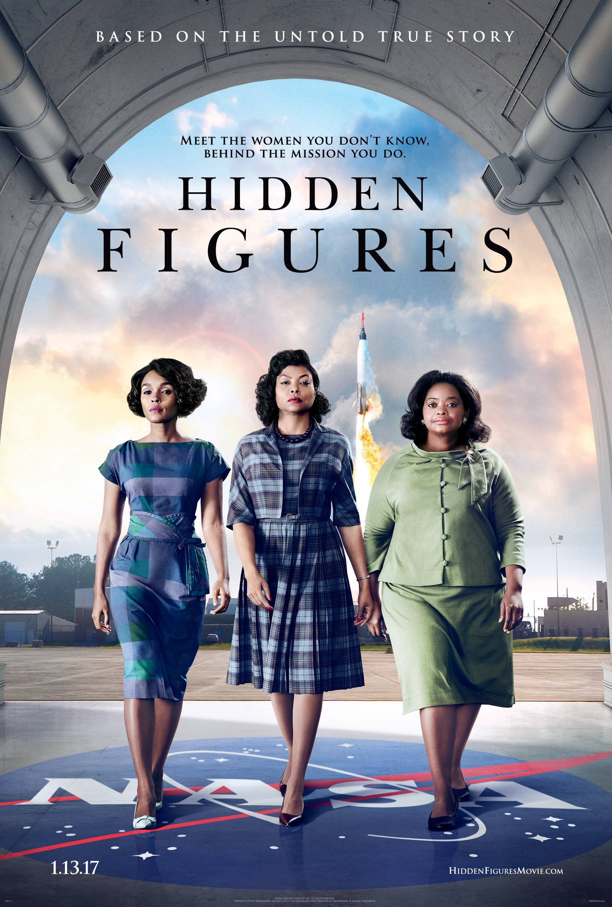 Hidden Figures' Explores NASA and Civil Rights History   Space