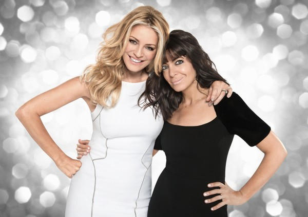 Strictly Come Dancing's Tess Daly and Claudia Winkleman
