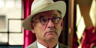 Bill Murray in his 2016 Ghostbusters reboot cameo