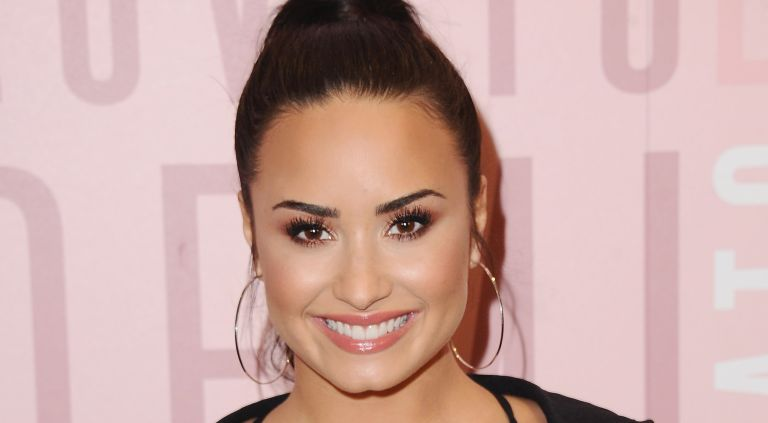 Demi Lovato visits Fabletics at Del Amo Fashion Center at Fabletics at Del Amo Fashion Center on January 27, 2018