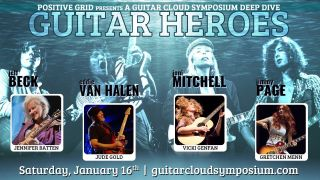"Jennifer Batten is hosting a Guitar Cloud ""Heroes"" Symposium"
