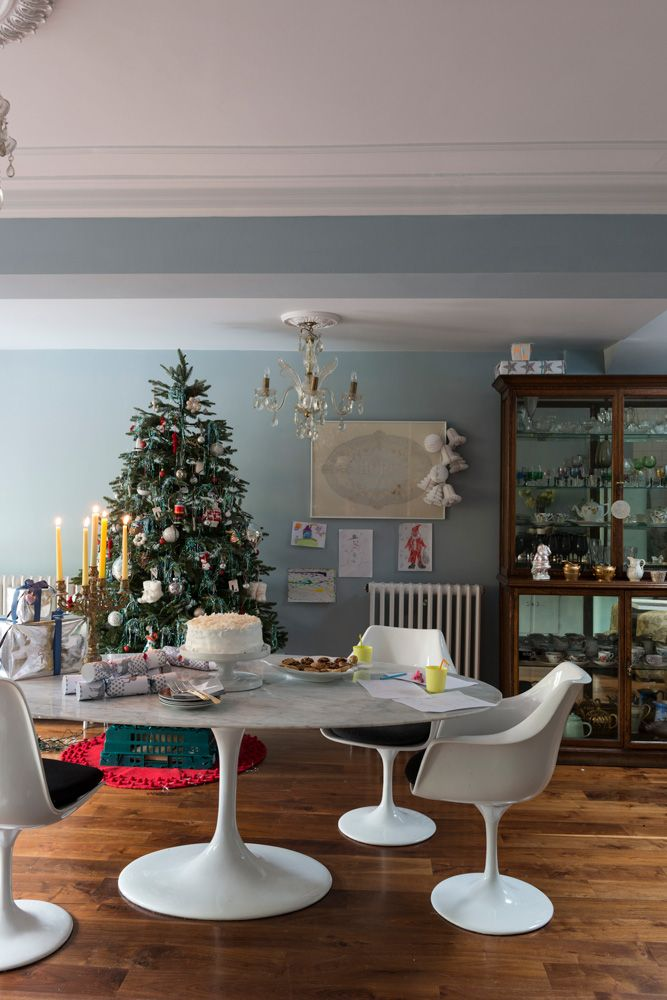 See this festive five-bedroom Victorian house