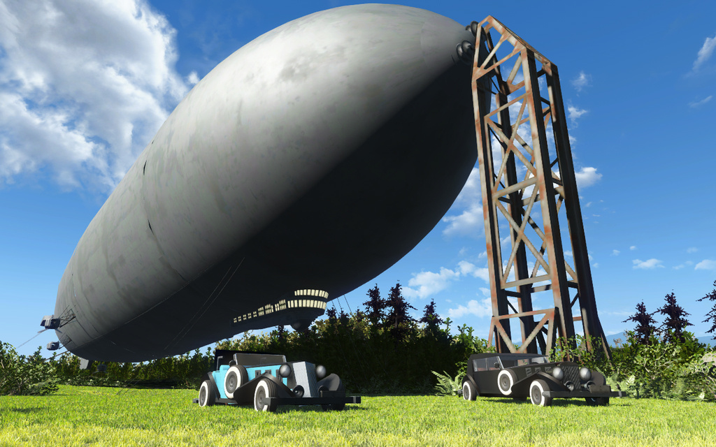 Fallout 4 airships mod adds a splash of BioShock Infinite to the