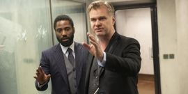 Christopher Nolan Spotted In Movie Theaters As They Reopen