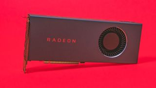 AMD Radeon RX 5700 with blower-style cooler