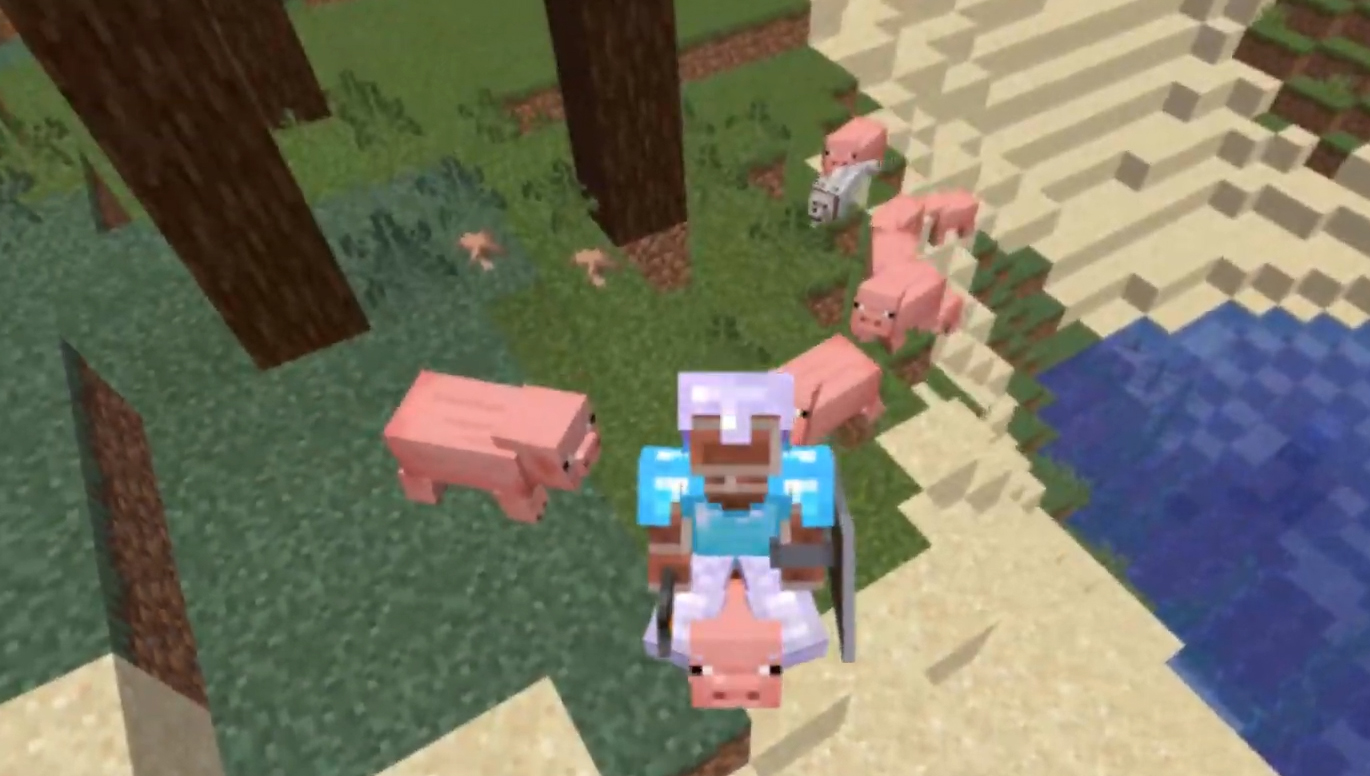 This Player Beat Minecraft Without Ever Taking A Single Step Pc Gamer