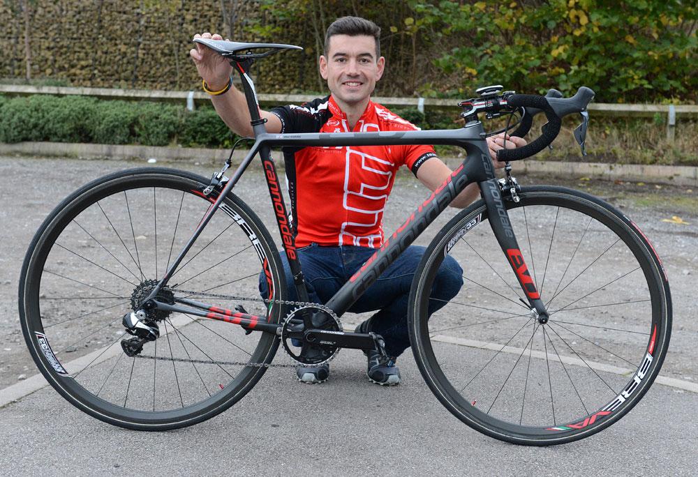 Dan Evans' National Hill Climb winning bike