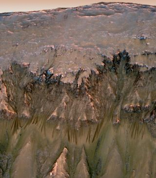 A flow on Mars