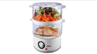 Oster Double Tiered food steamer review