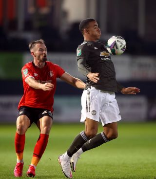 Luton Town v Manchester United – Carabao Cup – Third Round – Kenilworth Road