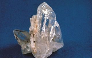 Quartz is the weakest mineral in continental rocks.