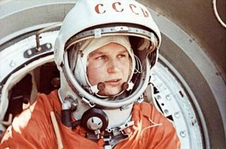 Tereshkova Climbs Into Vostok 6