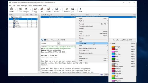 Claws mail 3. 14. 1 free download software reviews, downloads.