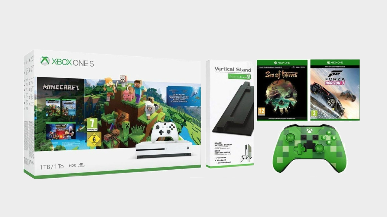 Get the ultimate Xbox One S bundle for £199 in the Amazon