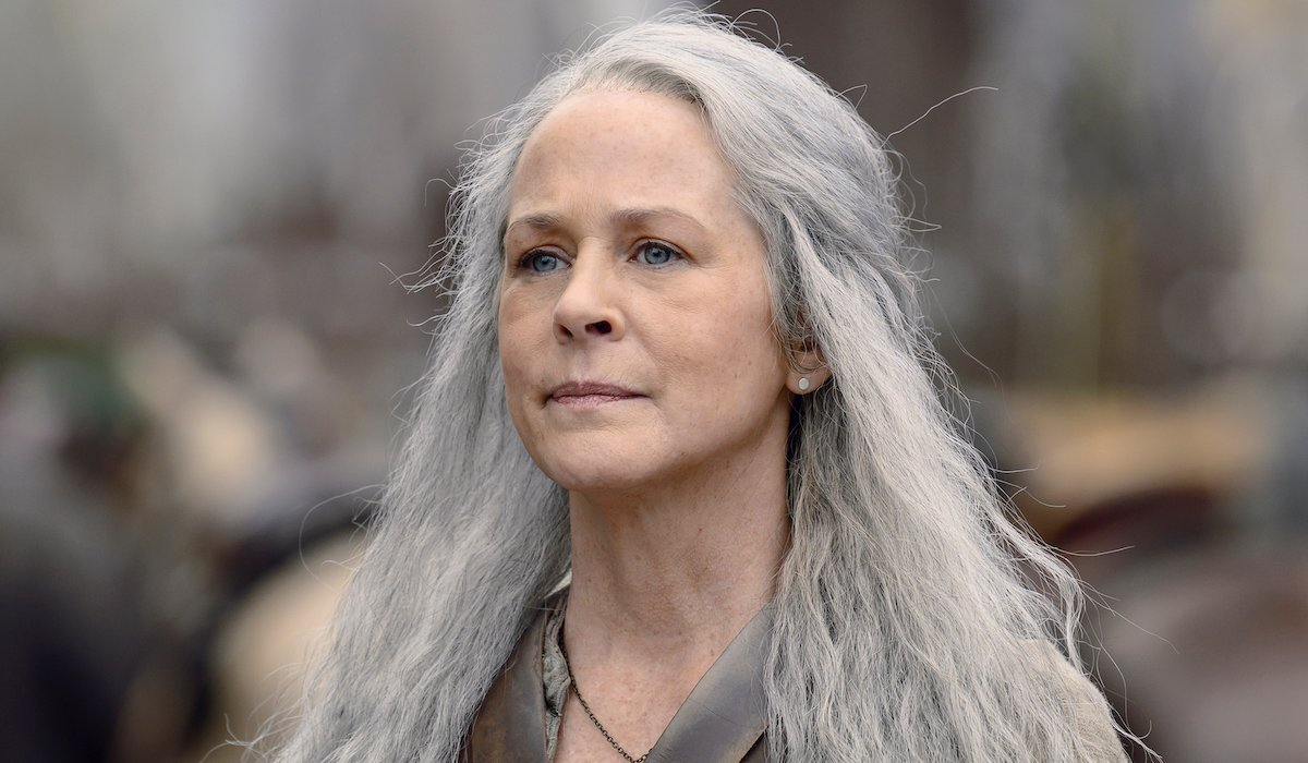 carol with long hair the walking dead