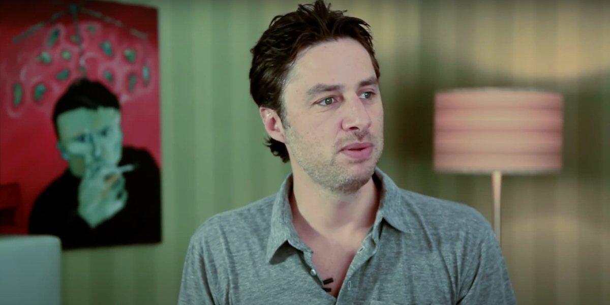 Zach Braff in Video Games: The Movie