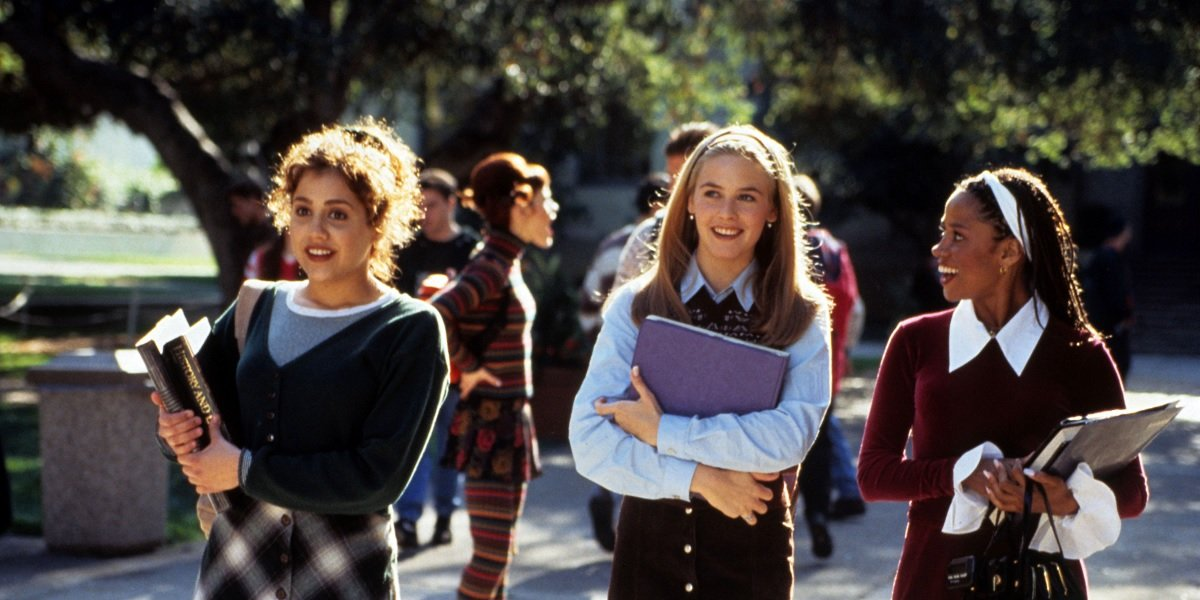 Stacey Dash, Alicia Silverstone, and Brittany Murphy in Clueless