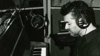 George Michael plays John Lennon Imagine piano