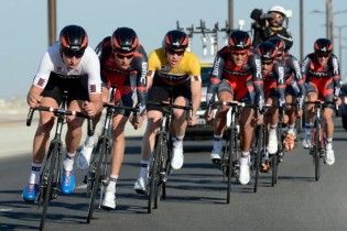 BMC wins Tour of Qatar 2013, stage two TTT