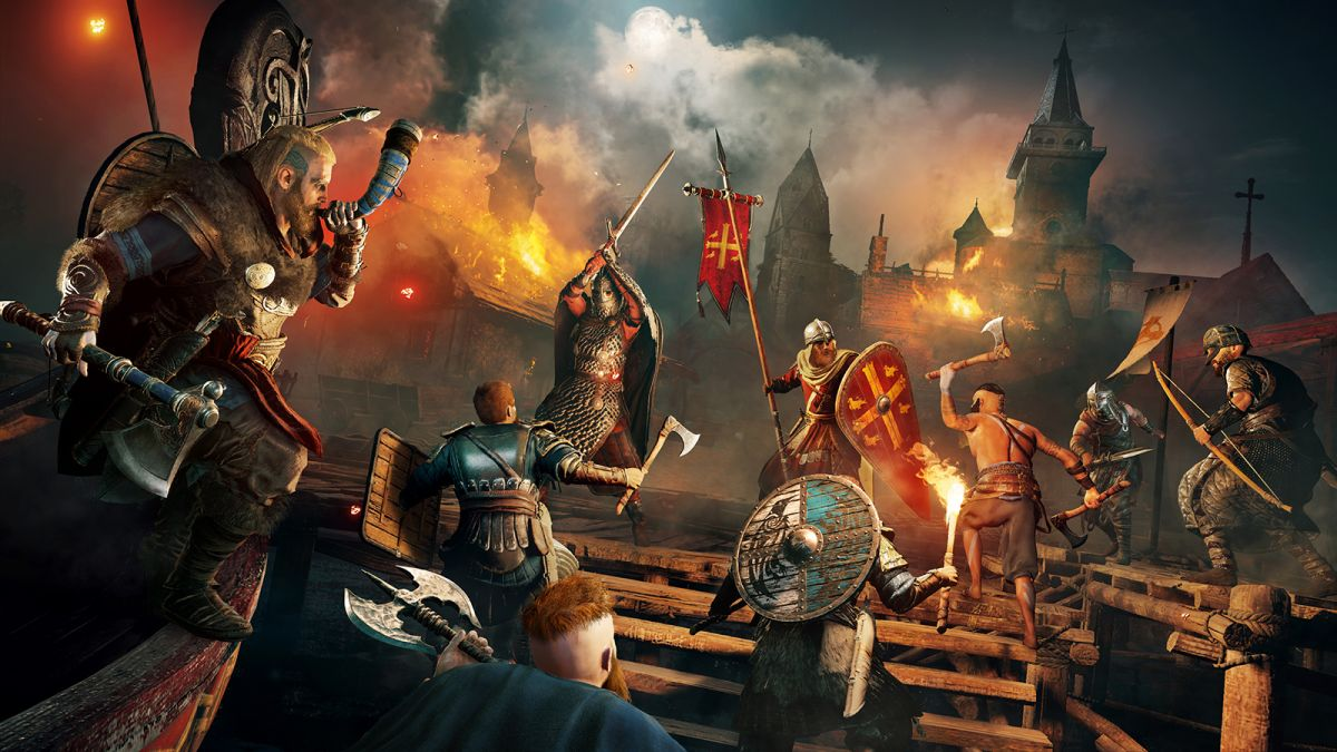 30 Minutes Of Assassin S Creed Valhalla Gameplay Footage Has