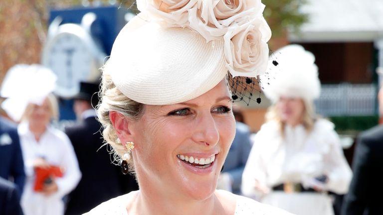 Zara Tindall stunned at Royal Ascot