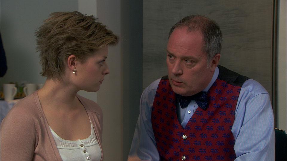 Heston tells Ruth a secret