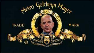 MGM logo featuring Jeff Bezos