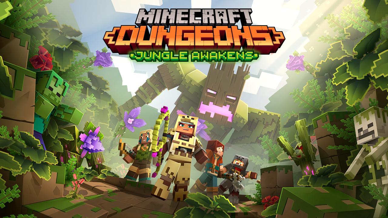 Minecraft Dungeons will get cross platform multiplayer in a future
