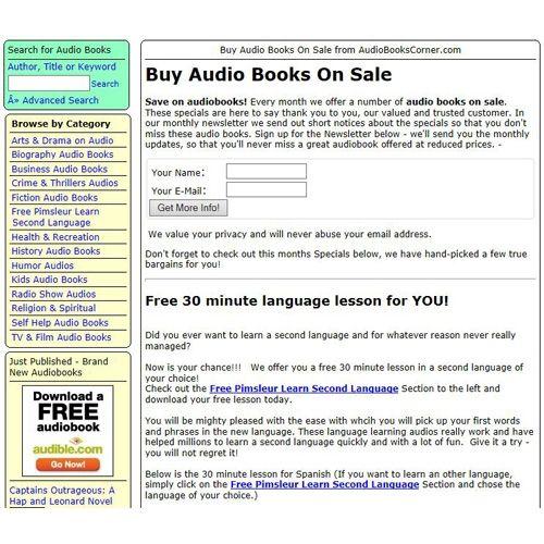Audio Books Corner Review - Pros, Cons and Verdict | Top Ten