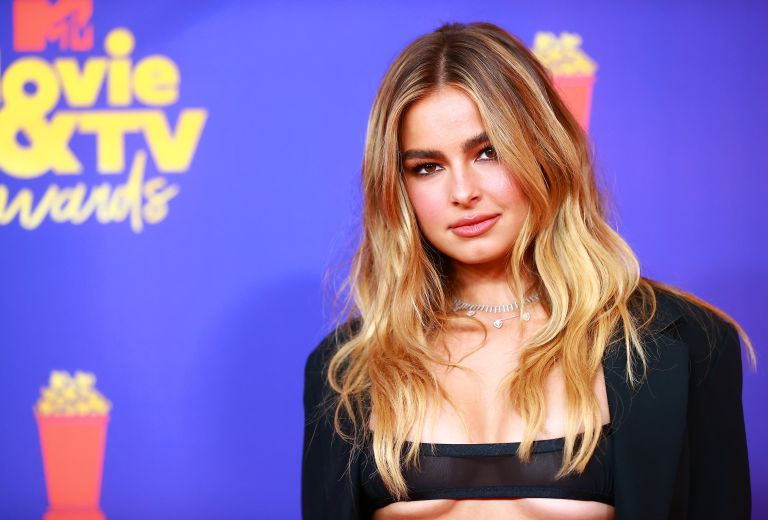 Addison Rae attends the 2021 MTV Movie & TV Awards at the Hollywood Palladium on May 16, 2021 in Los Angeles, California