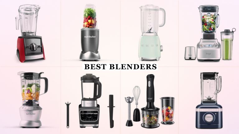 w&h's selection of the best blenders on the market: including the Sage Super Q, Vitamix A2300i, NutriBullet Blender Combo, KitchenAid Artisan K400 blender, and more