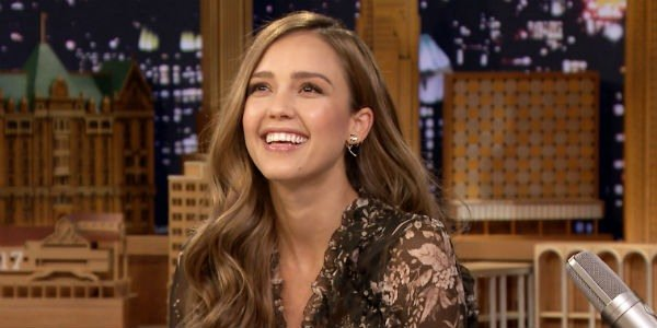 Jessica Alba - The Tonight Show Starring Jimmy Fallon